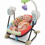 Review : Fisher price space saver swing and seat luv u zoo