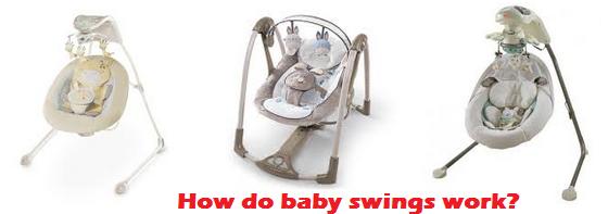 How do baby swings work?