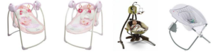 Review Fisher Price Starlight Papasan Cradle Swing