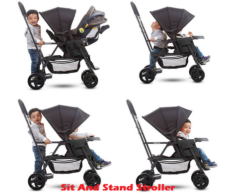 Best Sit And Stand Stroller For Infant & Toddler